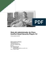 Cisco Email Plug-In 7.2 Admin Guide ES