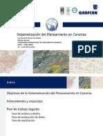 Sistematización del Planeamento en Canarias-Ing. Bernardo Pizarro Hernández