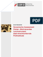 USP-D Dynamische Assessment Center