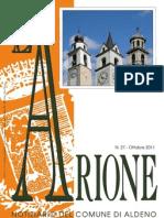 Arione - Notiziario di Aldeno (Trento) - ottobre 2011