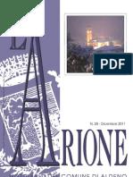 Arione 28 - Notiziario di Aldeno (Trento) dicembre 2011