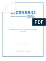 LICENSE4J Development and Integration Guide