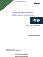 Fluke 1750 Calibration Manual
