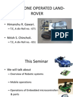Cell Phone Operated Land-rover