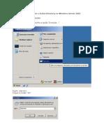 Como Instalar o Active Directory No Windows Server 2003