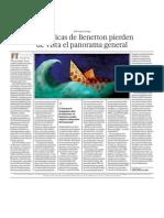 Las tácticas de empresa Benetton pierden de vista el panorama general