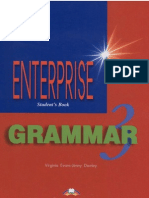 Enterprise 3 Pre-Intermediate Grammar Book