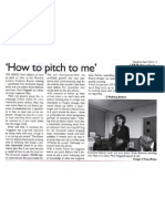 The Economist's Book and Arts Editor on 'How to Pitch Me'