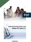 Nokia PC Suite 67 UG Dut