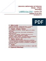 LAMPEA-Doc 2012 – numéro 15 / Vendredi 20 avril 2012