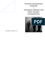 Fourth Generation Warfare and Standing Orders for Open Source Insurgencies Imposed Fin