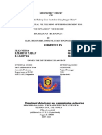 Automatic Railway Gate Controller Documentation