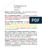 Corporate Code of the Philippines