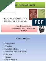 Edu 5600 Falsafah Islam