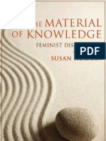 The Material of Knowledge _ Susan Hekman