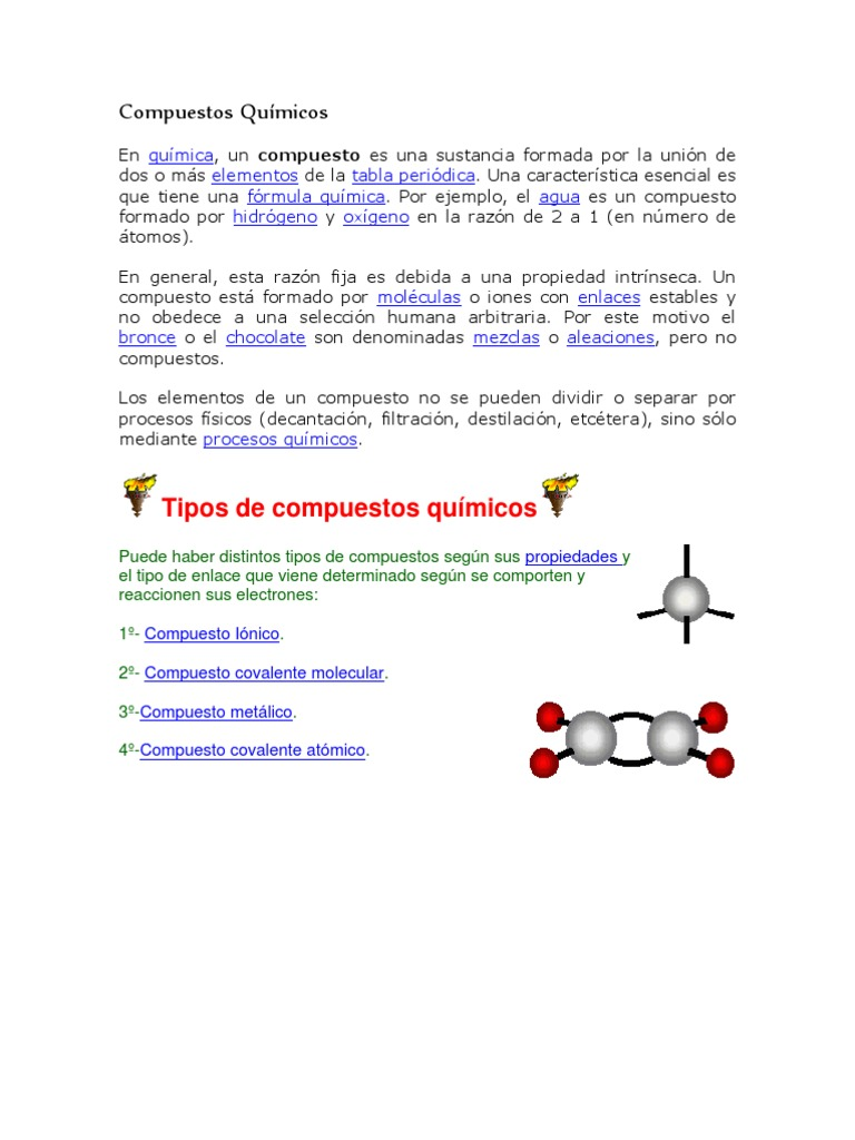 Clasificacin de los compuestos qumicos urtaz Choice Image
