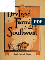 Dry Land Farming in Southwest