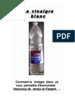 Le Vinaigre Blanc
