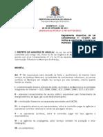 decreto3646-2011 - substituição tributaria aracaju