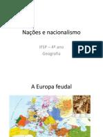 Nações e nacionalismo