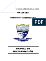 Manual de Investigaciones UNIANDES 2009 Definitivo