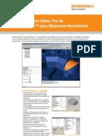 Hoja de Datos Tecnicos Software Active Editor Pro de Productivity