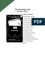 The Rockefeller Files - By Gary Allen