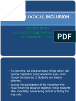 Technological Inclusion New