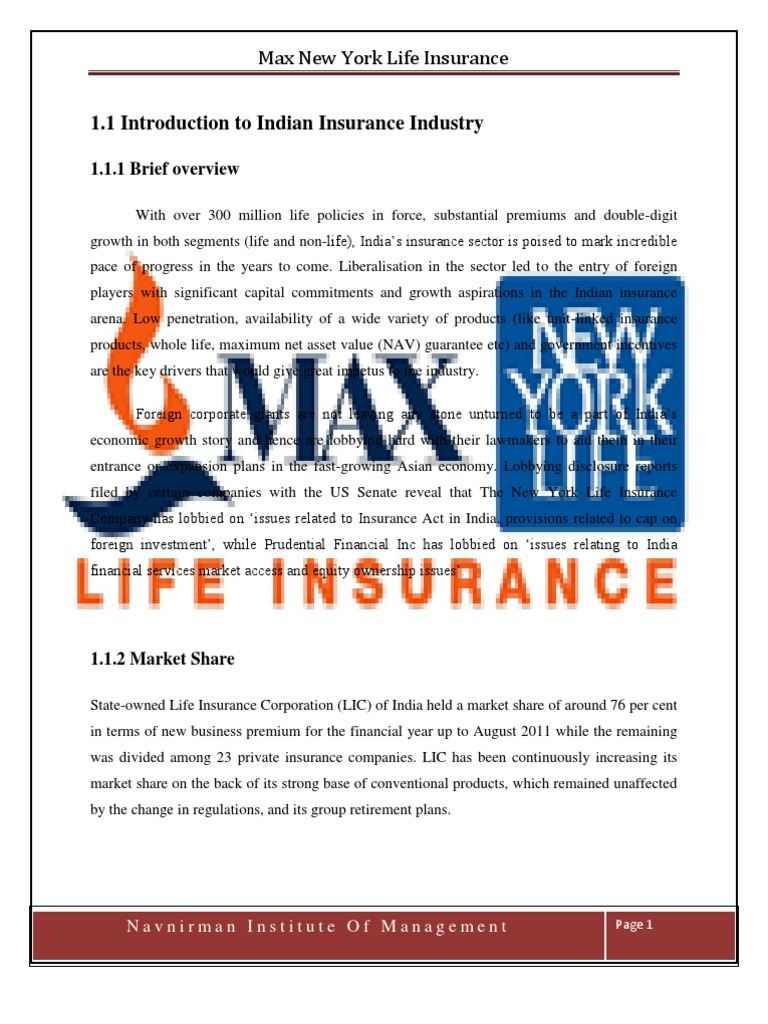 recruitment process in max newyork life insurance company View nitin singh's recruitment cunsultent at max newyork life location recruitment manager & expert financial planner at max life insurance company.