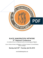 Black Immigration Network 3rd National Conference Program