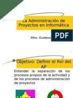 Adm. de Proyecto