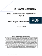 Ga Power Company Application Part 3