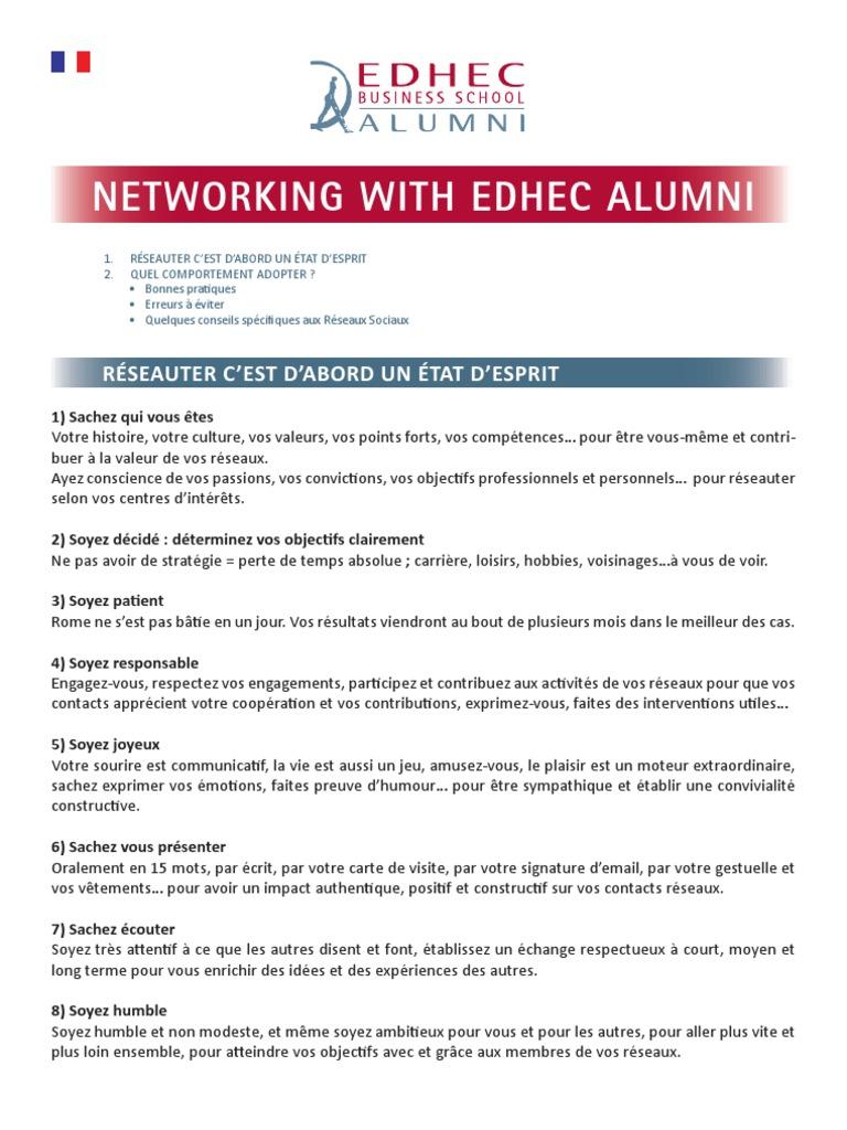 Networker Quand On Est Etudiant