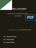 Diseño y Psicosociol