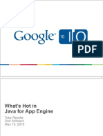 App Engine Whats Hot in Java
