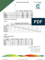 Practica de Excel 2007 22-01-12