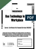 Fnsicgen302b Workbook