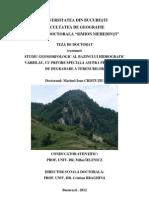Studiu Geomorfologic Al Bazinului Varbilau - Rezumat