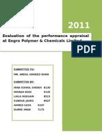Engro Report - Perf Appr
