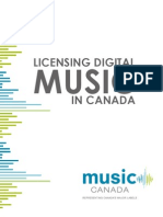 Licensing Digital Music in Canada Web