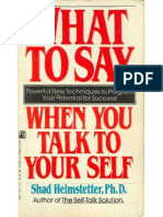 Shad Helmstetter - What to Say When You Talk to Your Self