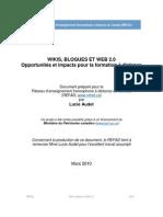 Wikis,blogues et Web 2.0