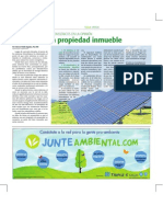 Impacto de los Sistemas Fotovoltaicos en el valor de la propiedad inmueble