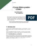 Postfix Cyrus Web Cyradm HOWTO Es