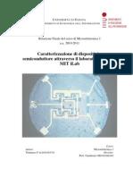 Relazione Microelettronica to Tommaso
