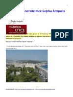 Soutenez l'Université Nice Sophia Antipolis