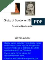 Giotto. Ps. Jaime Botello Valle