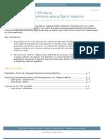 360i Report on Language Preference Among Digital Hispanics