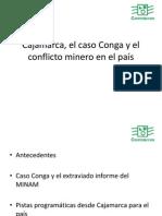 PPT de José De Echave - Cajamarca El Caso Conga y El Conflicto