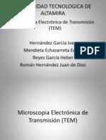 Microscopia Electrónica de Transmisión (TEM) 2